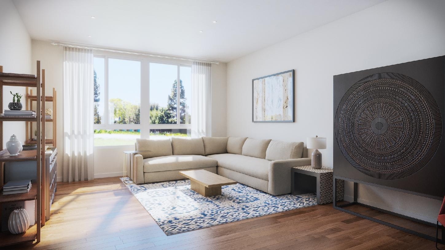 Living Area featured in the Thistle By Toll Brothers in San Jose, CA