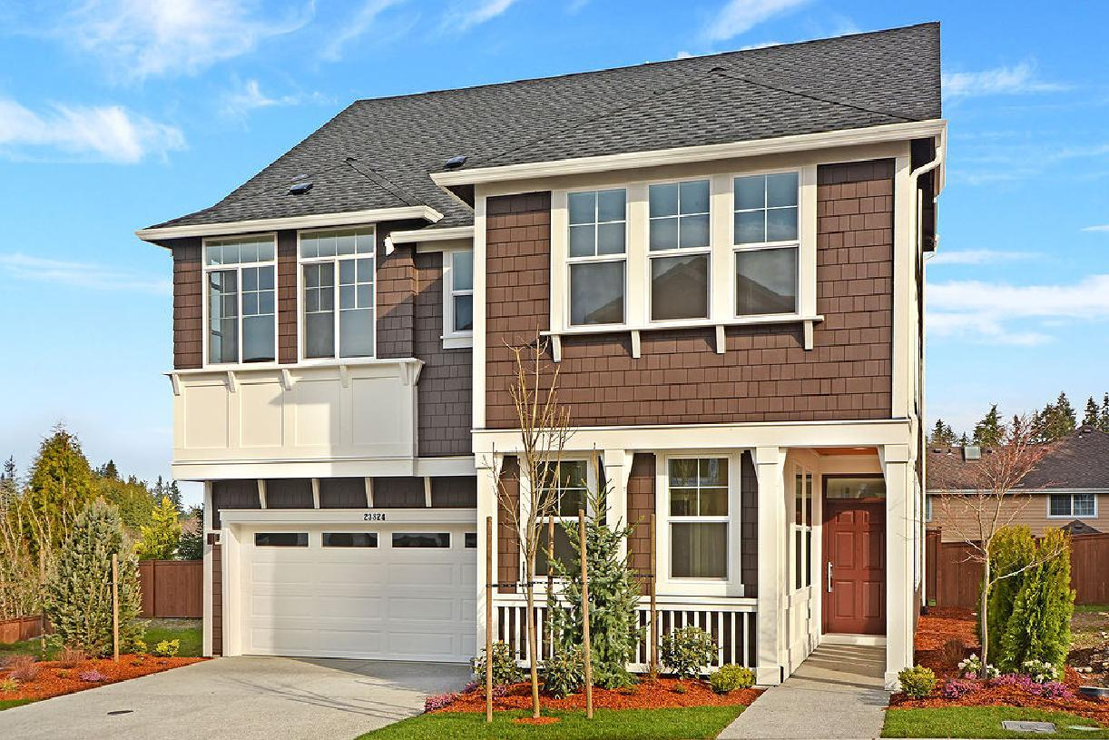 Exterior featured in the Blanchard By Toll Brothers in Seattle-Bellevue, WA