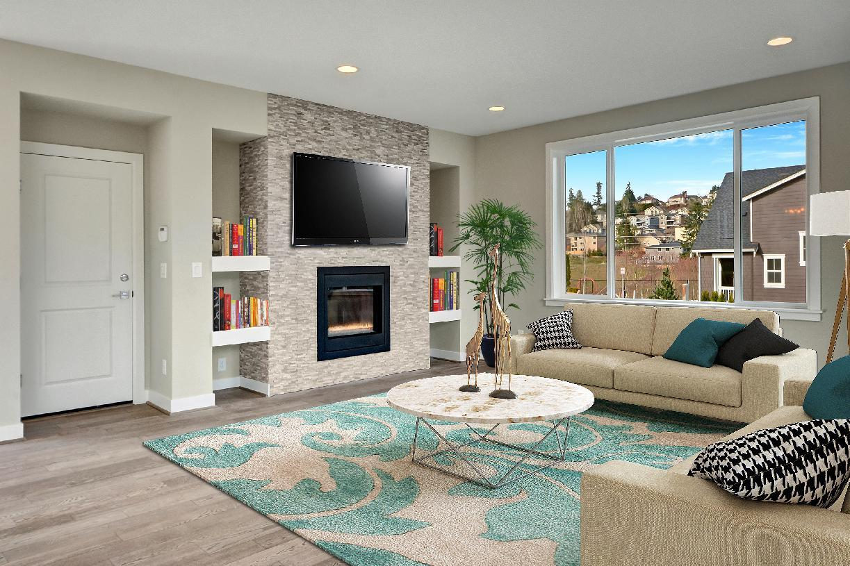 Living Area featured in the Blanchard By Toll Brothers in Seattle-Bellevue, WA
