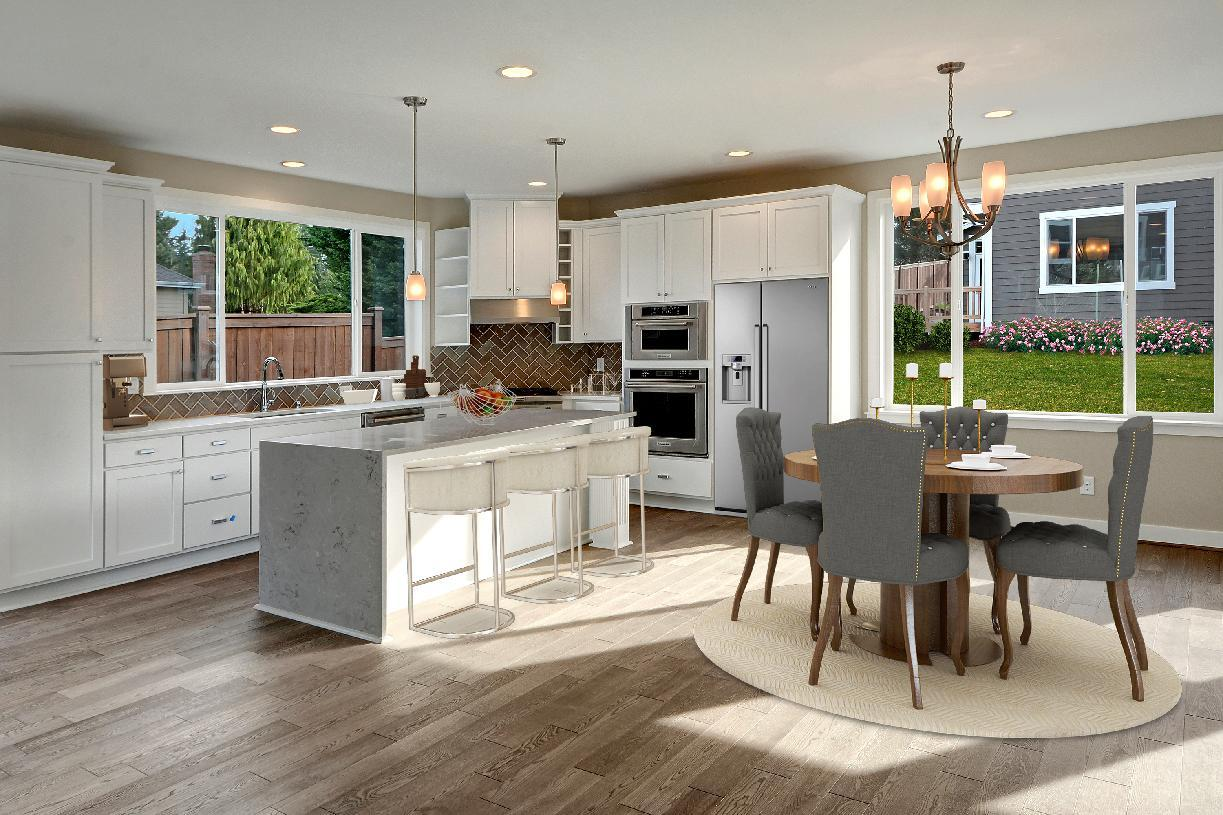 Kitchen featured in the Blanchard By Toll Brothers in Seattle-Bellevue, WA