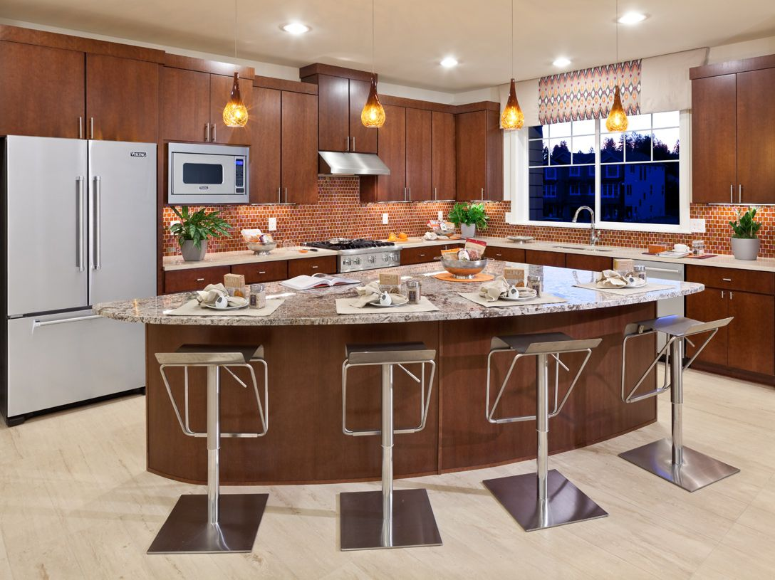 Kitchen featured in the Neimann By Toll Brothers in Seattle-Bellevue, WA