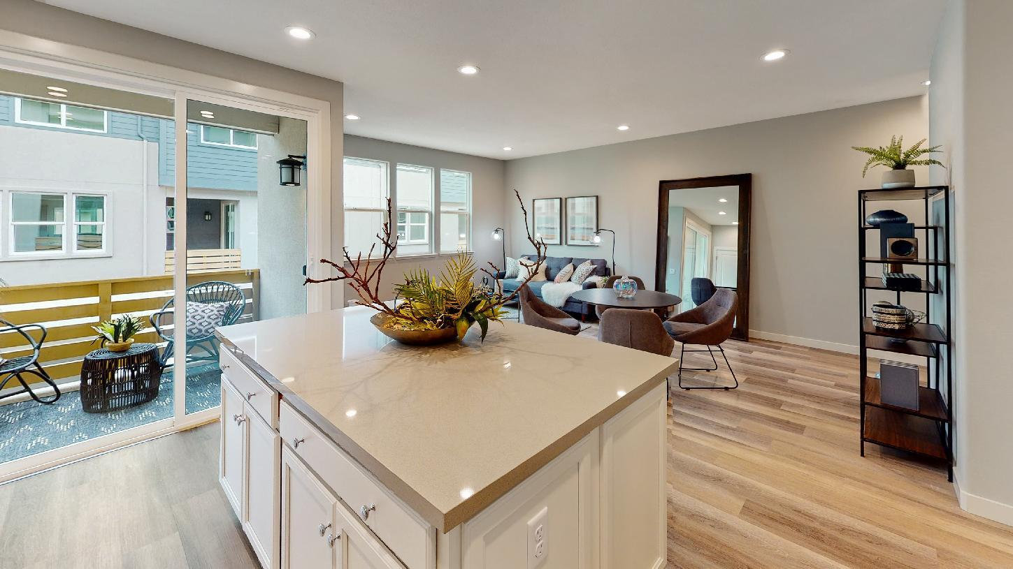 Living Area featured in the Pine By Toll Brothers in San Jose, CA