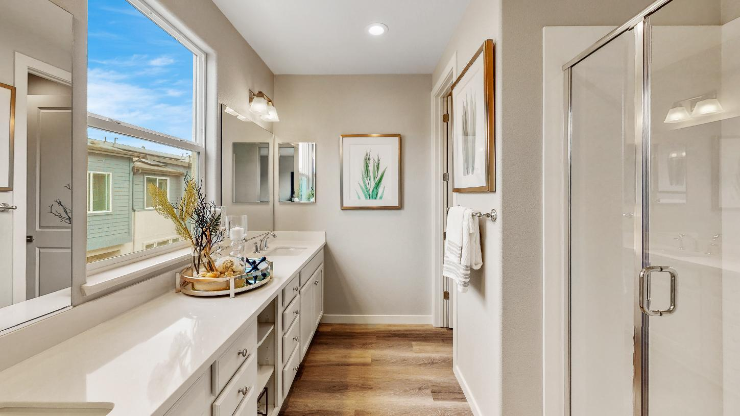 Bathroom featured in the Pine By Toll Brothers in San Jose, CA