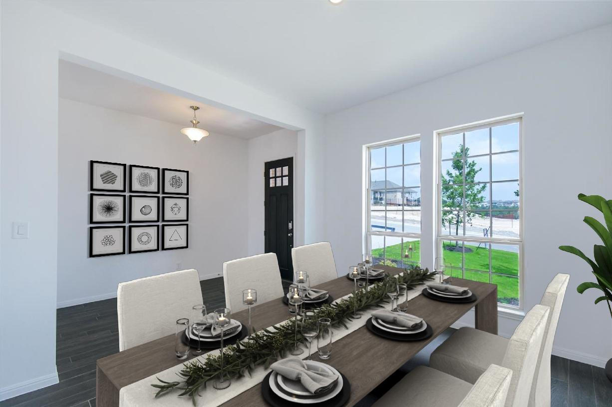 Living Area featured in the Aliana By Toll Brothers in Austin, TX