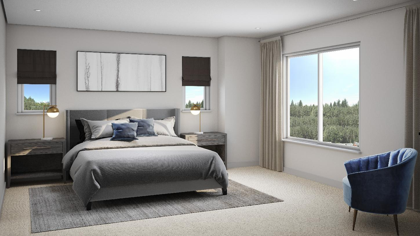Bedroom featured in the Wilburton By Toll Brothers in Seattle-Bellevue, WA