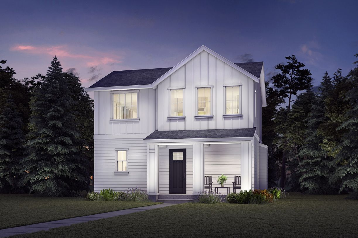 Exterior featured in the Discovery By Toll Brothers in Seattle-Bellevue, WA