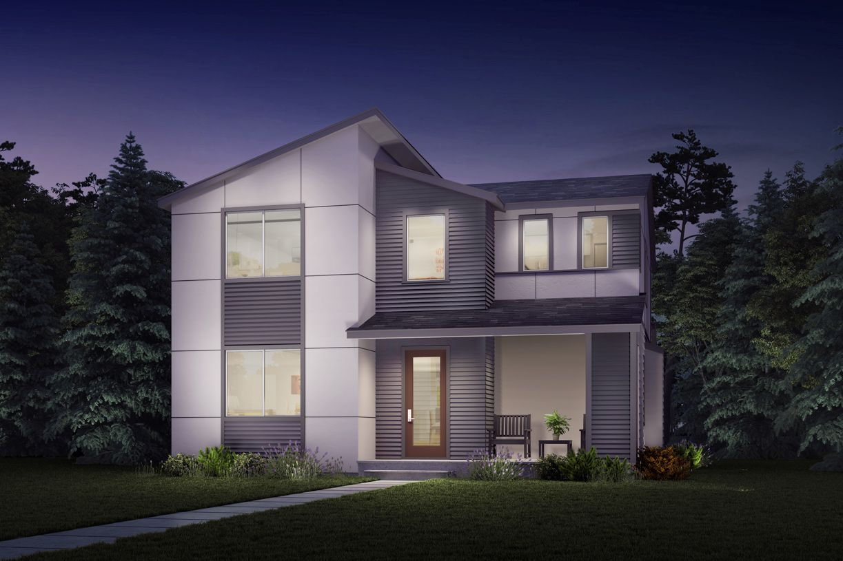 Exterior featured in the Pioneer By Toll Brothers in Seattle-Bellevue, WA