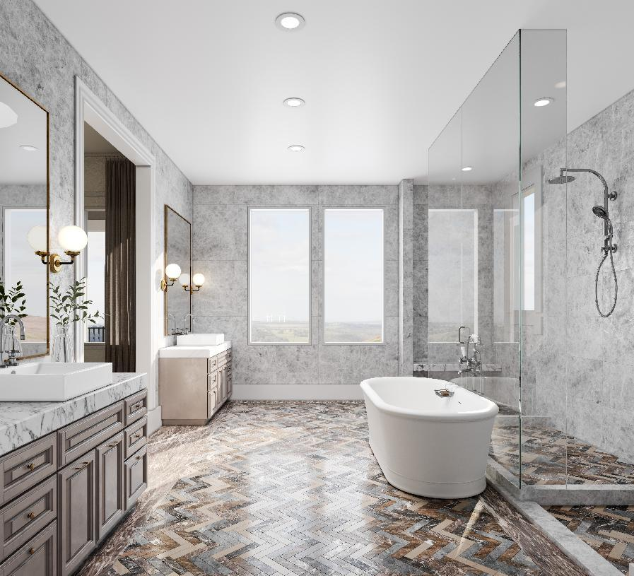 Bathroom featured in the Foothill Tuscan By Toll Brothers in Oakland-Alameda, CA