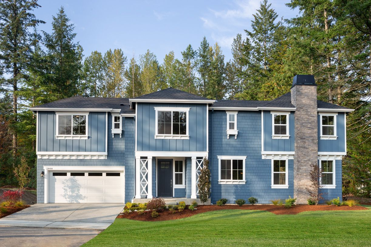 Exterior featured in the Bradley By Toll Brothers in Seattle-Bellevue, WA