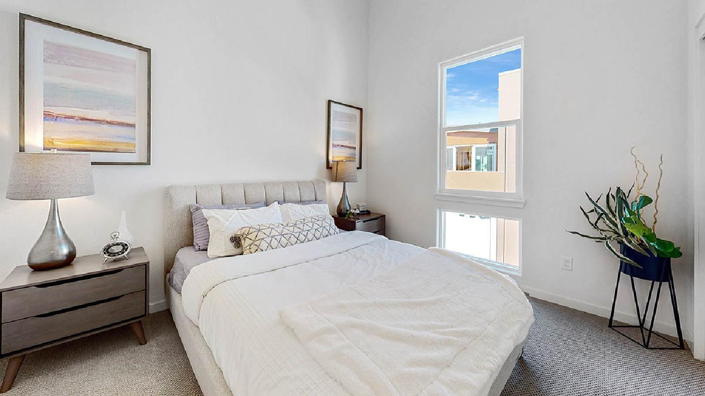 Bedroom featured in the Bayshore By Toll Brothers in San Jose, CA