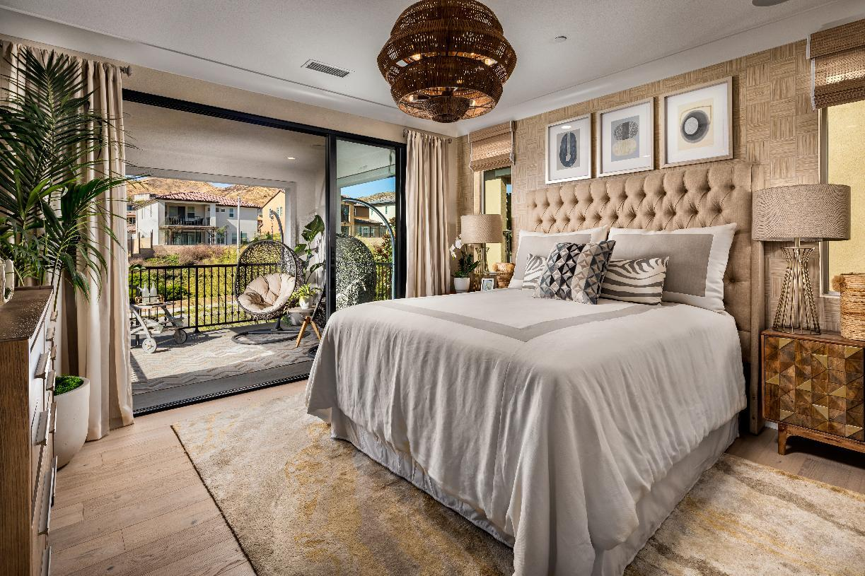 Bedroom featured in the Adena By Toll Brothers in Los Angeles, CA