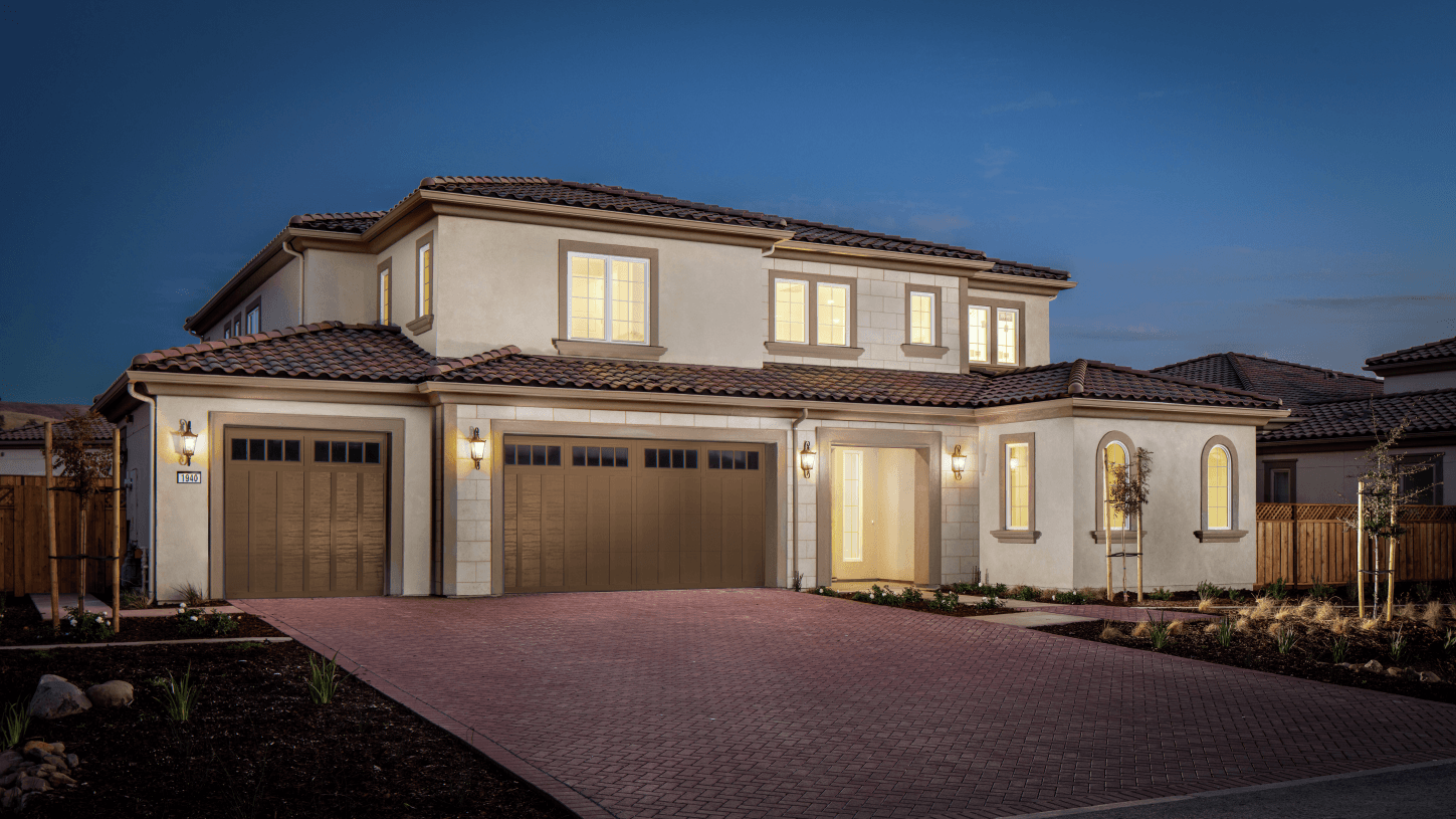 Exterior featured in the Alegra By Toll Brothers in San Jose, CA