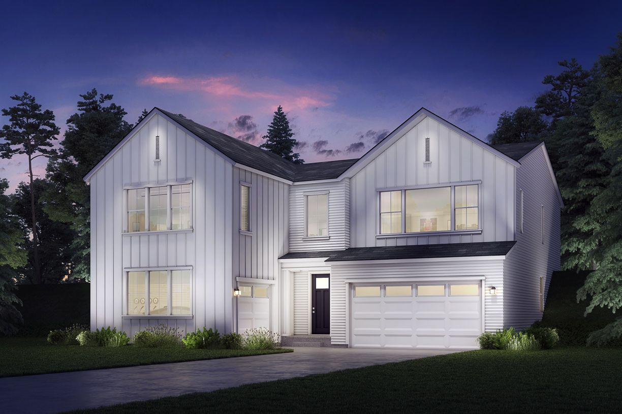 Exterior featured in the Lynden By Toll Brothers in Seattle-Bellevue, WA