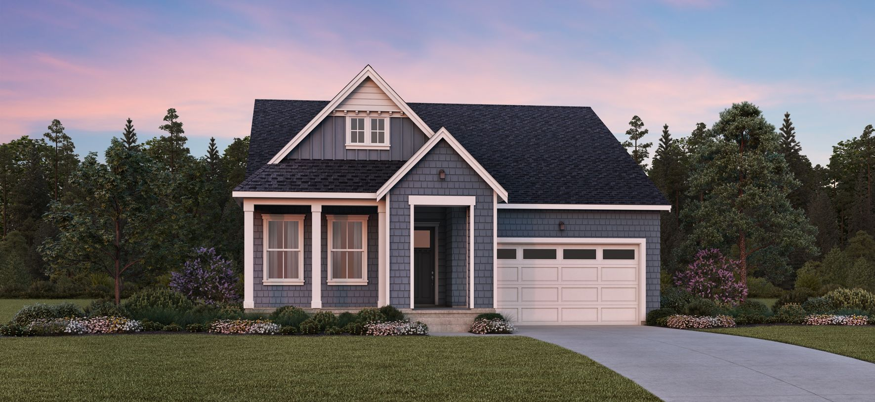 Exterior featured in the Orchid By Toll Brothers in Seattle-Bellevue, WA