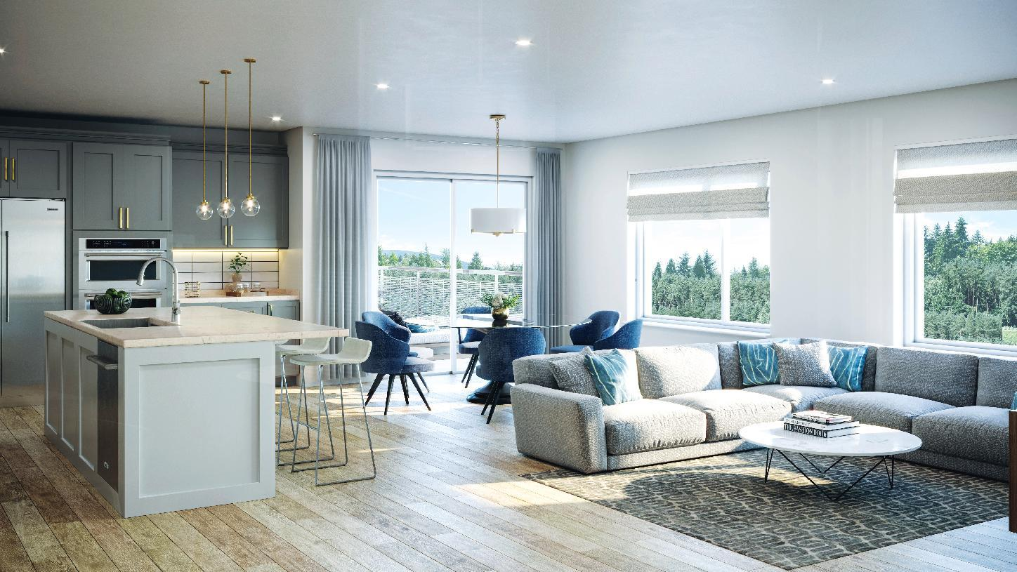 Living Area featured in the Highlands By Toll Brothers in Seattle-Bellevue, WA