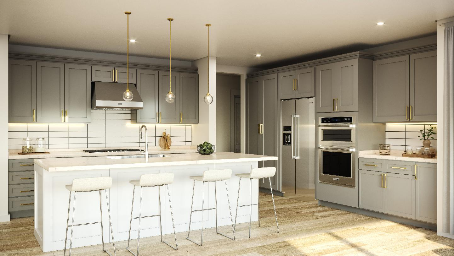 Kitchen featured in the Highlands By Toll Brothers in Seattle-Bellevue, WA