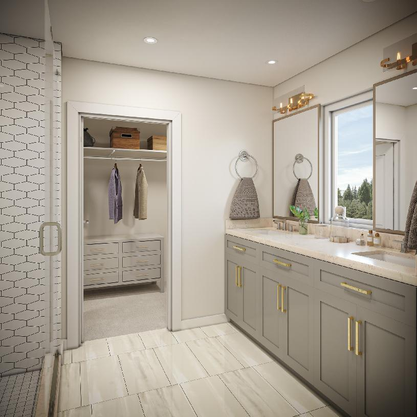 Bathroom featured in the Highlands By Toll Brothers in Seattle-Bellevue, WA