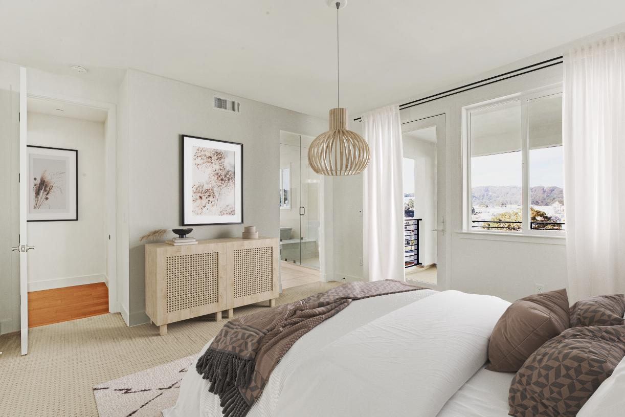 Bedroom featured in the Latitude By Toll Brothers in San Francisco, CA
