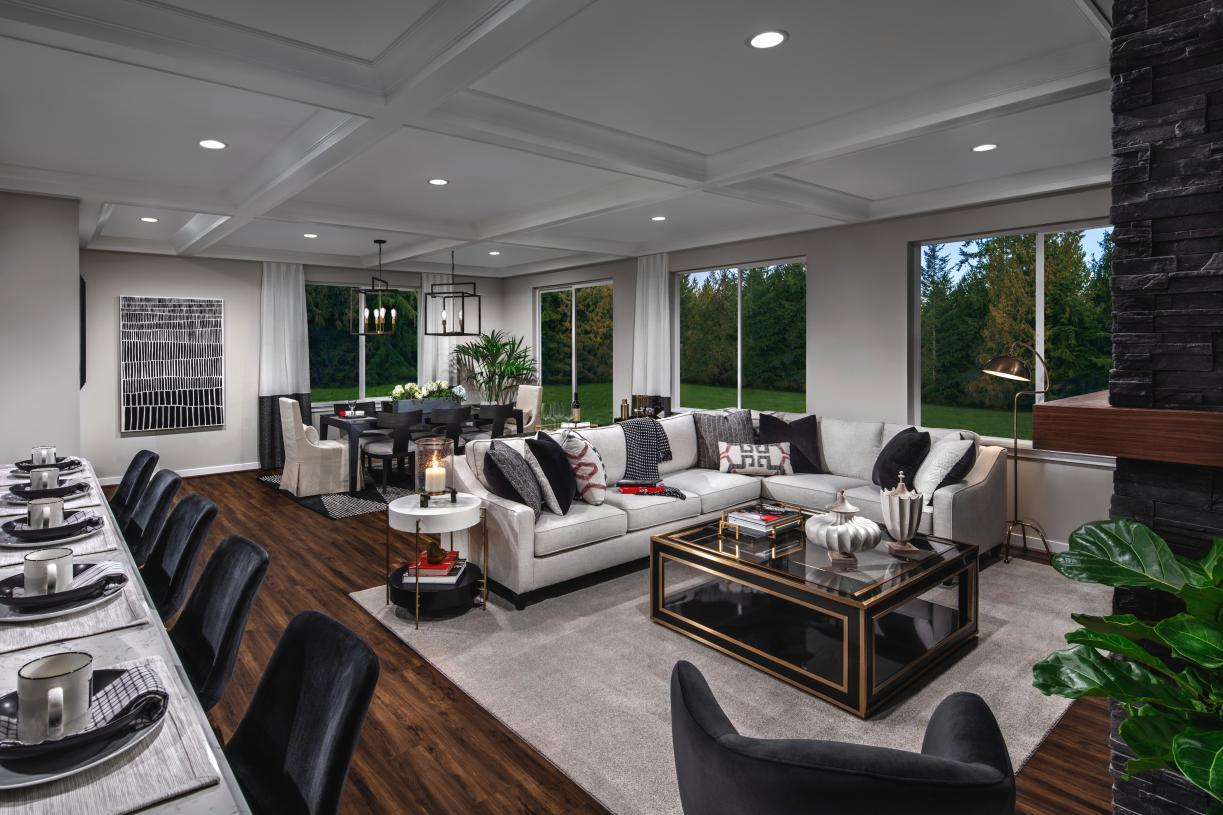Living Area featured in the Shuksan By Toll Brothers in Seattle-Bellevue, WA