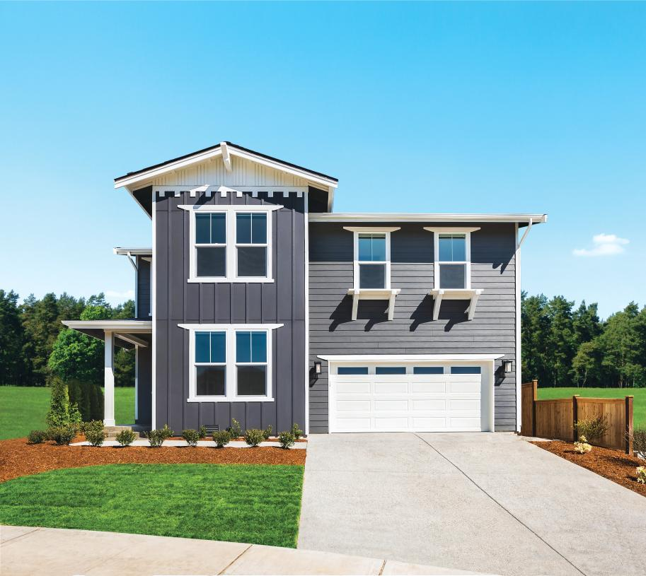 Exterior featured in the Albion By Toll Brothers in Seattle-Bellevue, WA
