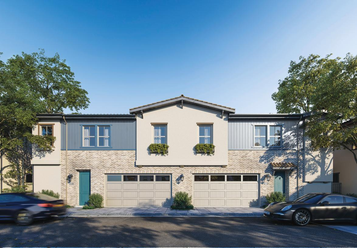 Exterior featured in the Riland By Toll Brothers in San Jose, CA