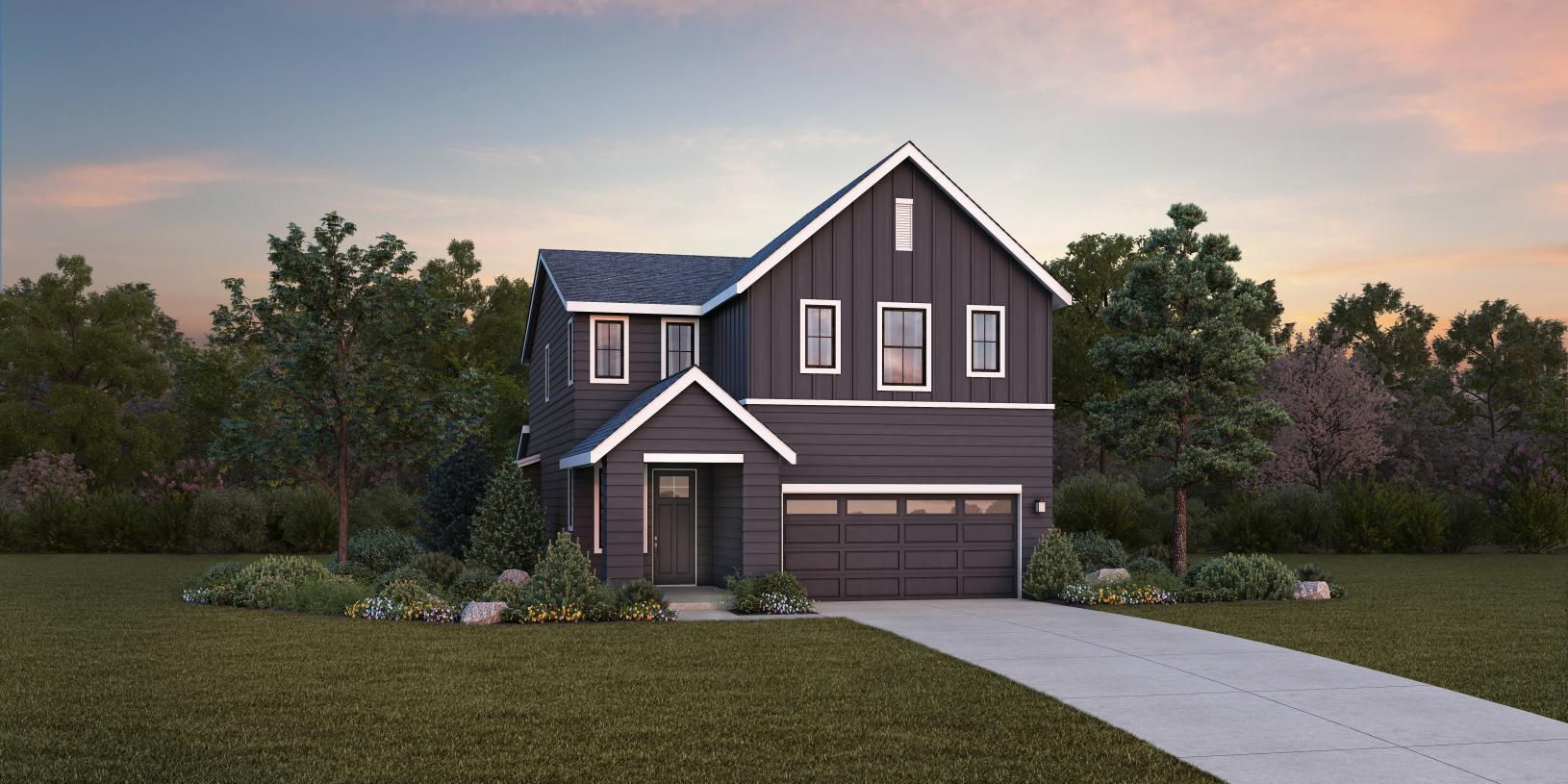 Exterior featured in the Glacier with Basement By Toll Brothers in Seattle-Bellevue, WA