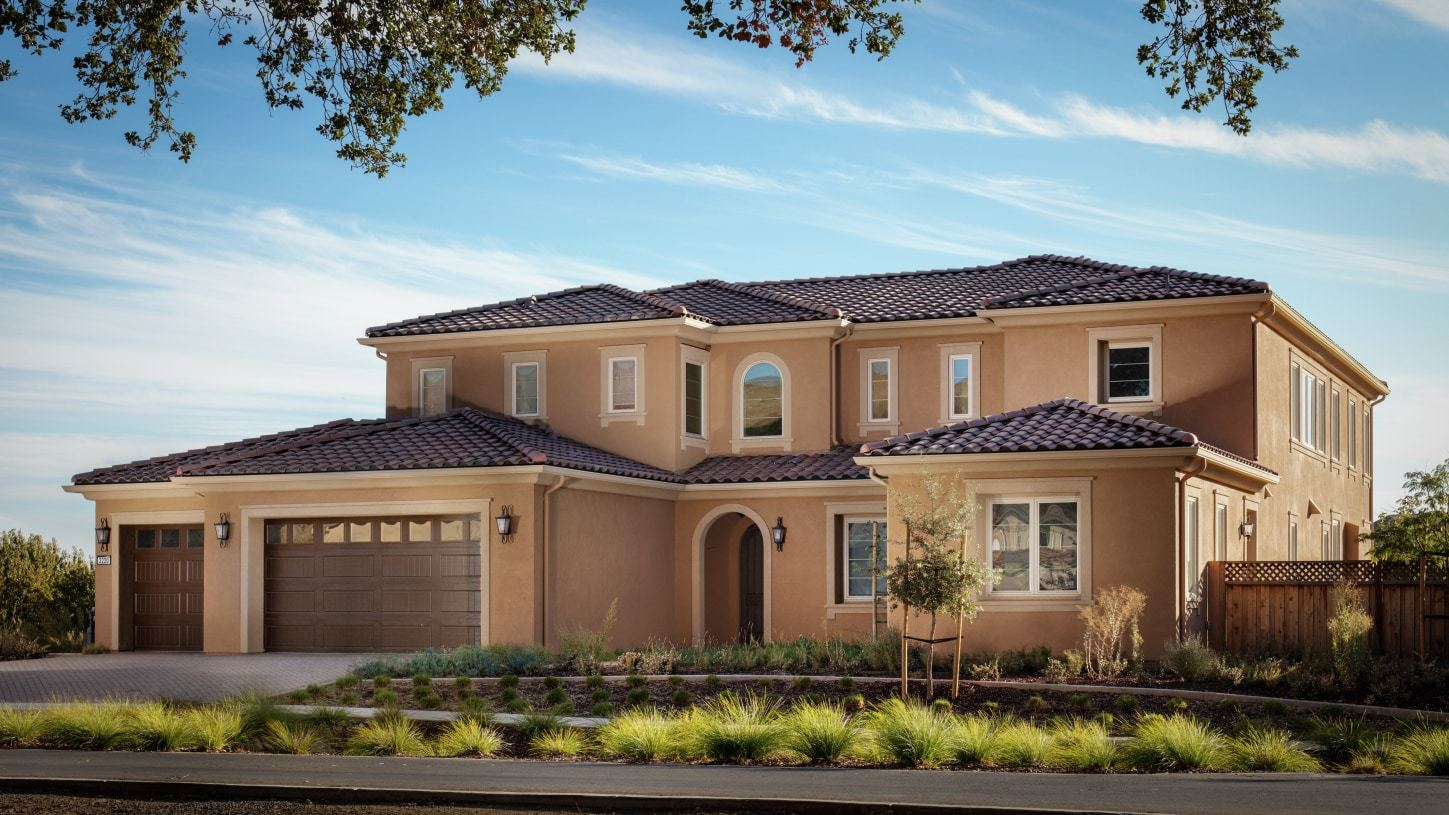 Exterior featured in the Campagna By Toll Brothers in San Jose, CA