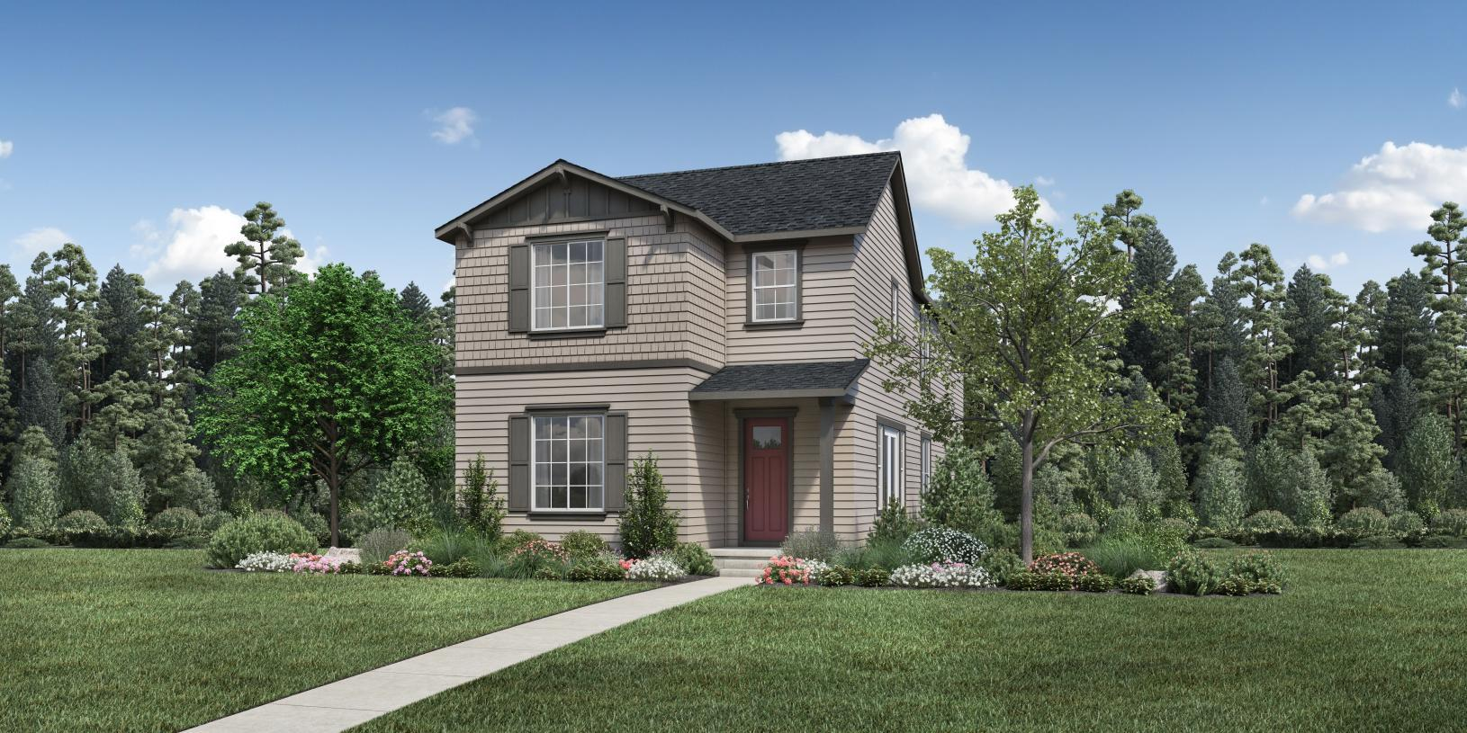 Exterior featured in the Elderberry By Toll Brothers in Seattle-Bellevue, WA