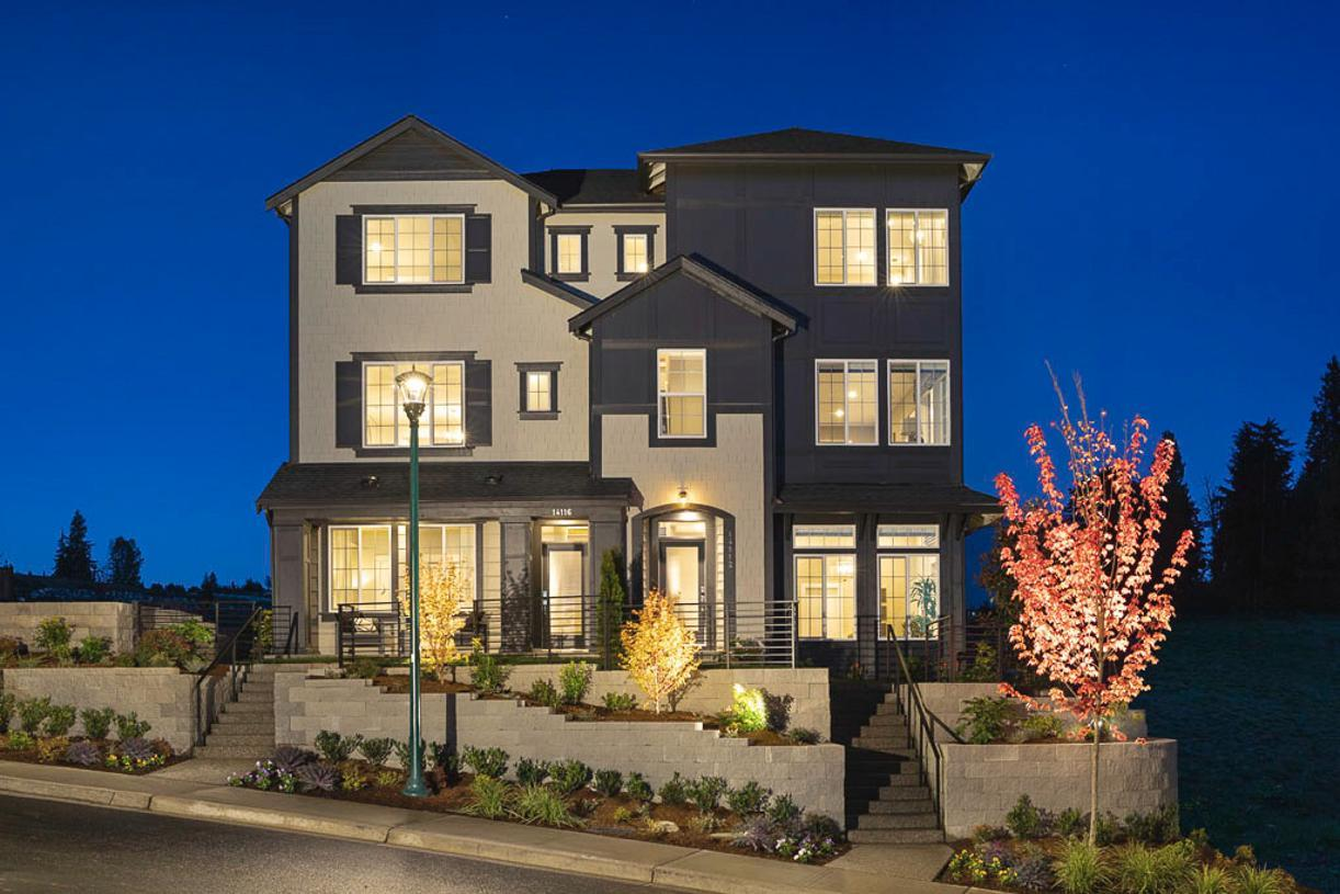 Exterior featured in the Armstrong By Toll Brothers in Seattle-Bellevue, WA
