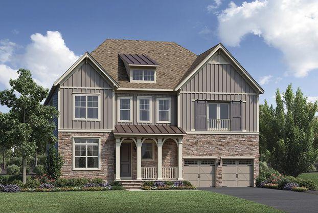 Lenah Mill The Carolinas in Aldie VA New Homes Floor Plans by – Lenah Mill Site Plan