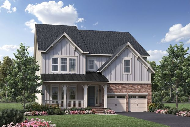 Lenah Mill The Villages in Aldie VA New Homes Floor Plans by – Lenah Mill Site Plan