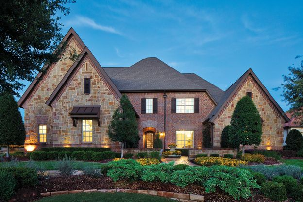 Elevation Image:Beautiful brick exterior has excellent curb appeal