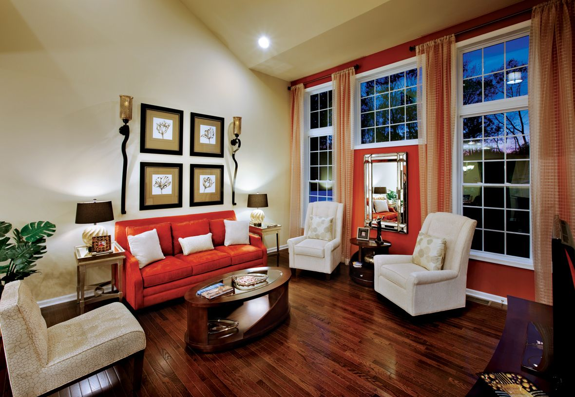 Living Area featured in the Hickory Manor By Toll Brothers in Waterbury, CT