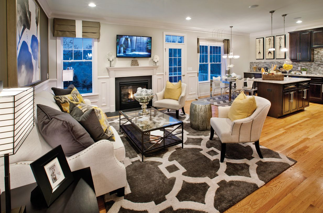 Living Area featured in the Portman Manor By Toll Brothers in Waterbury, CT