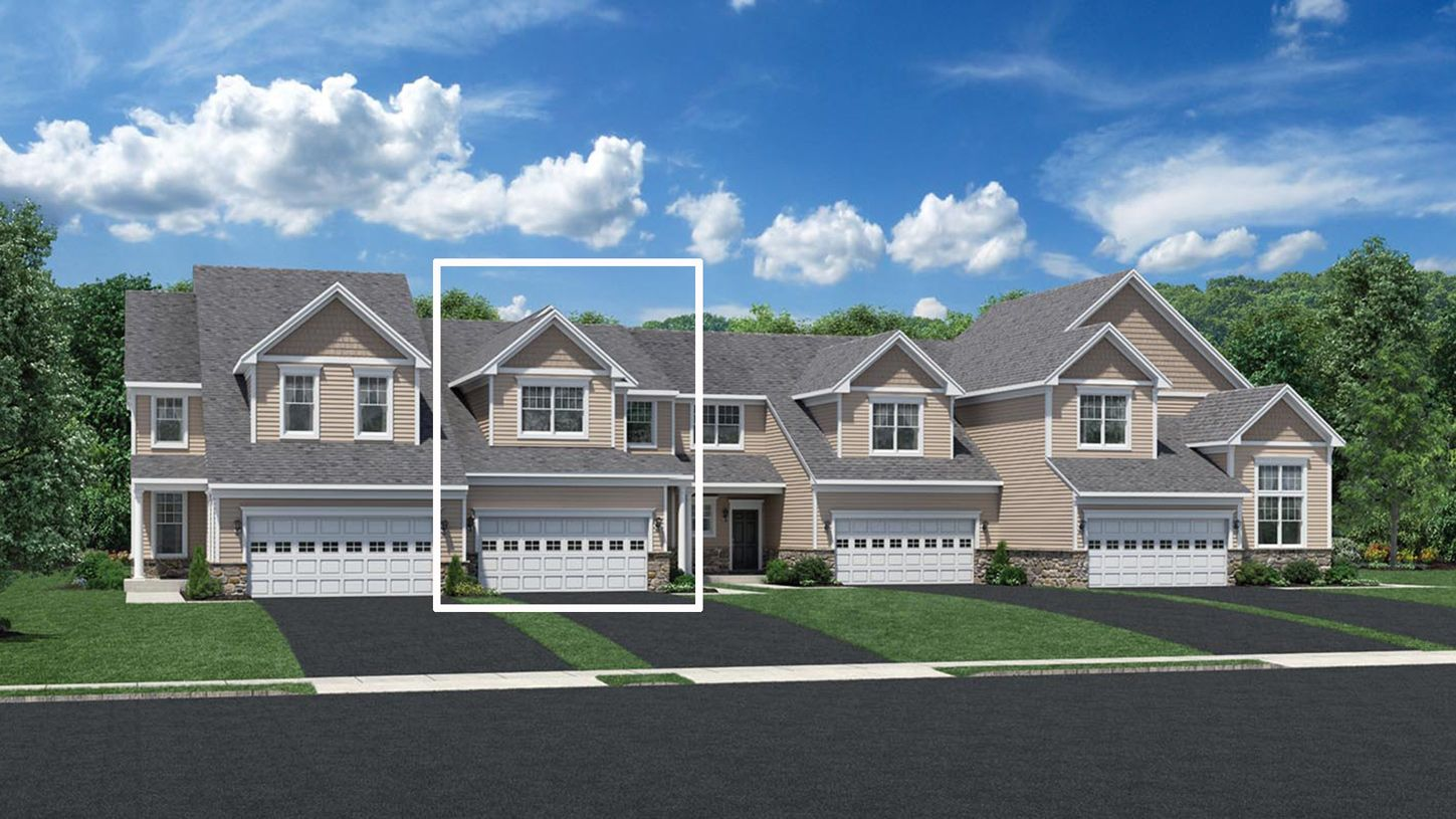 Exterior featured in the Portman By Toll Brothers in Waterbury, CT