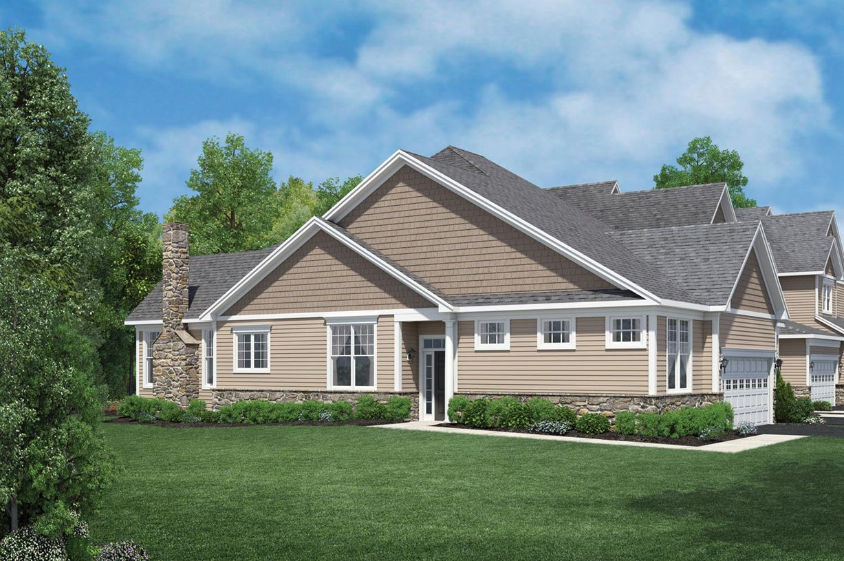 Exterior featured in the Bethel By Toll Brothers in Waterbury, CT
