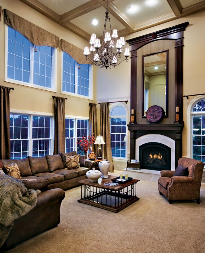 Living Area featured in the Columbia II By Toll Brothers in Monmouth County, NJ