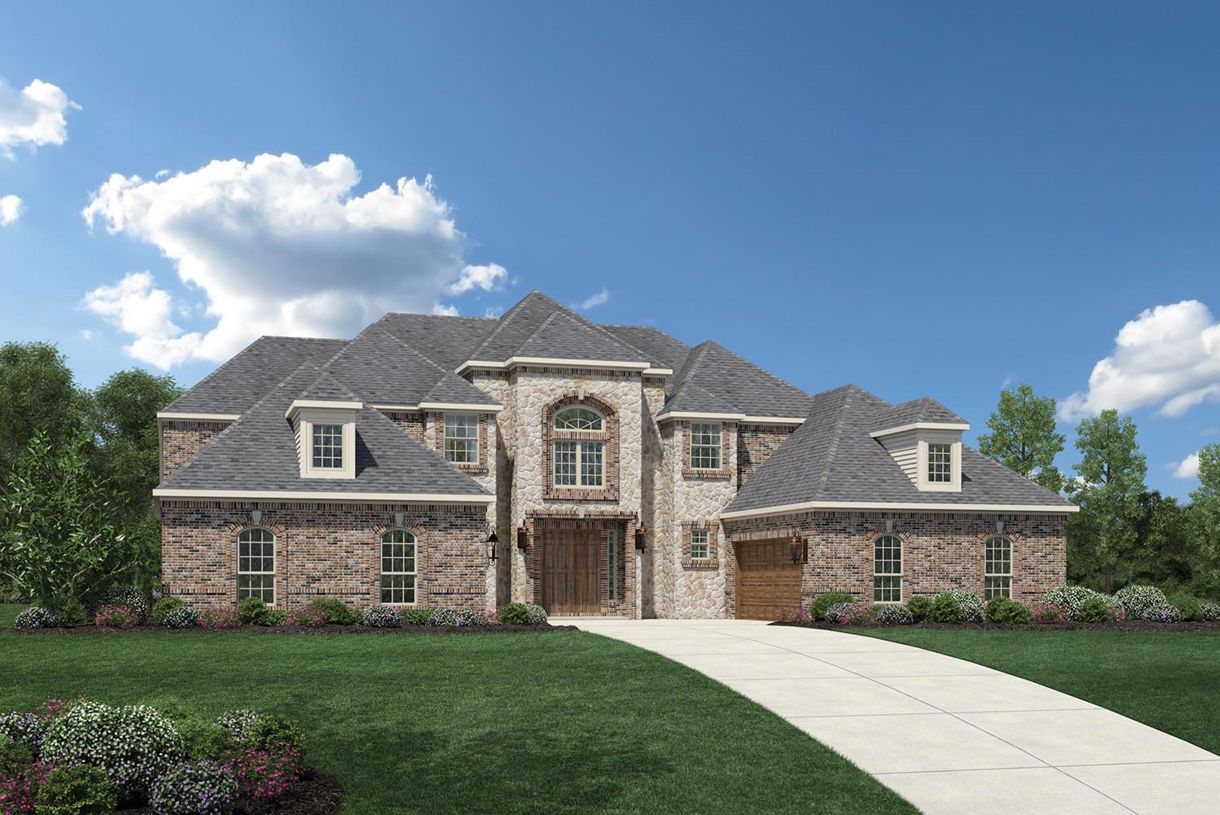Home Design: Montelena Plan, Missouri City, Texas 77459