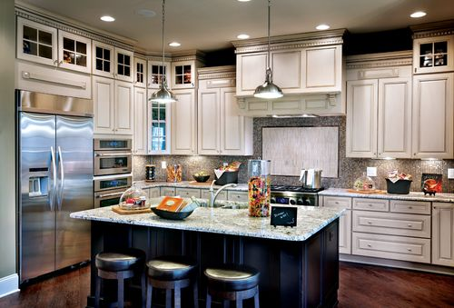 Kitchen-in-Raphael-at-Hasentree - Executive Collection-in-Wake Forest