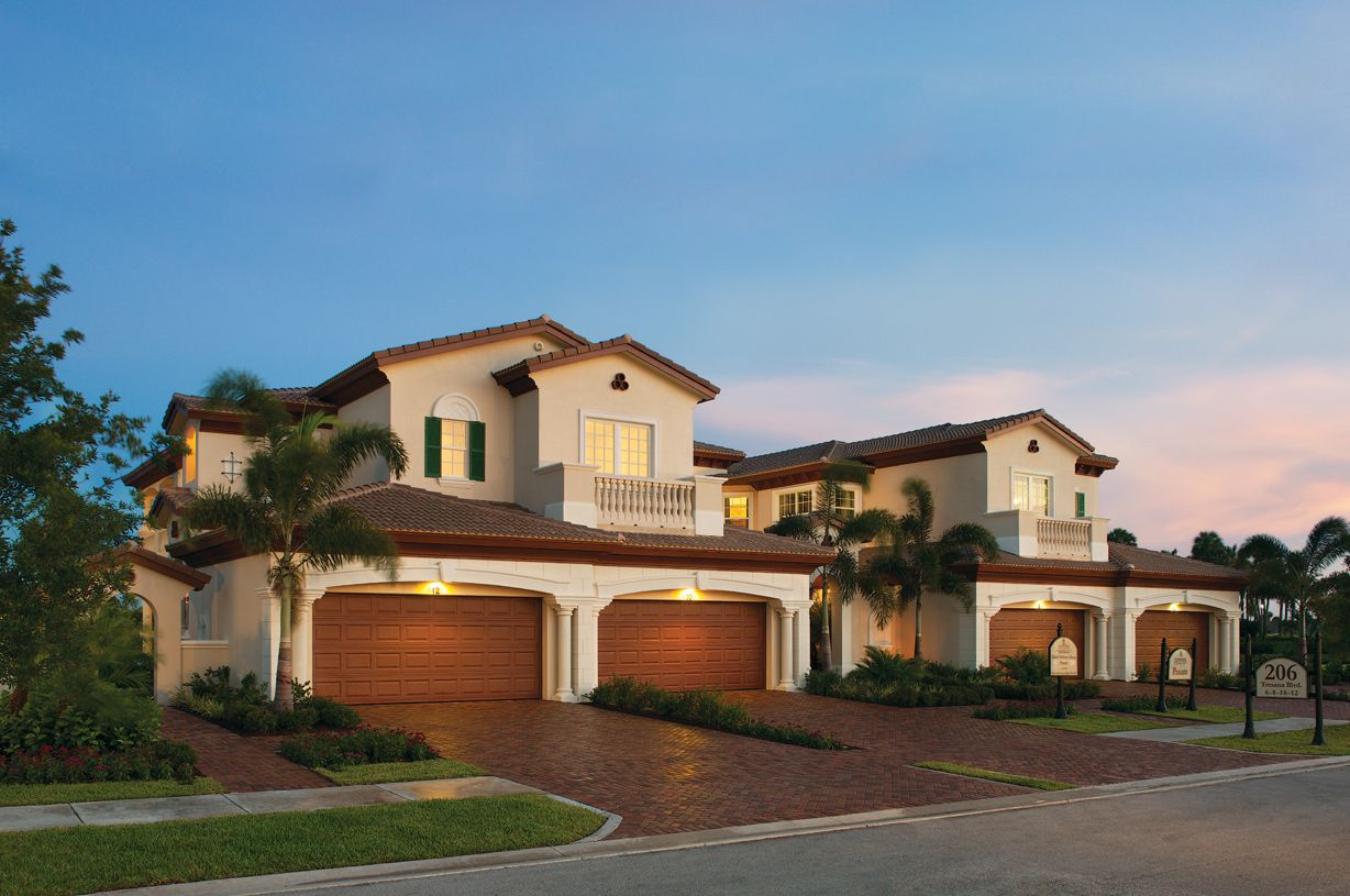 Jupiter country club carriage homes in jupiter fl new for Florida floor plans for new homes