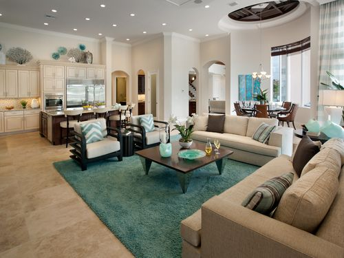 Greatroom-and-Dining-in-Villa Lago-at-Royal Palm Polo - Signature Collection-in-Boca Raton