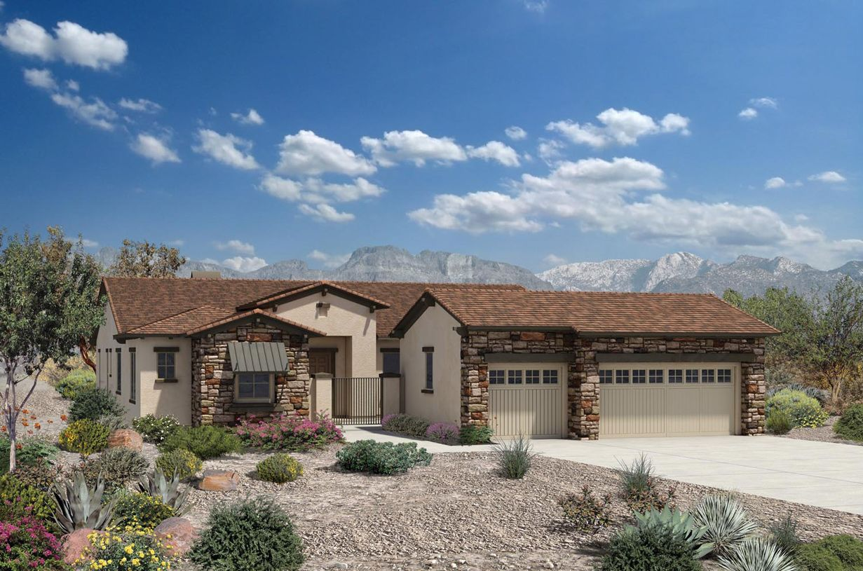 New Construction Floor Plans In Carefree Az Newhomesource