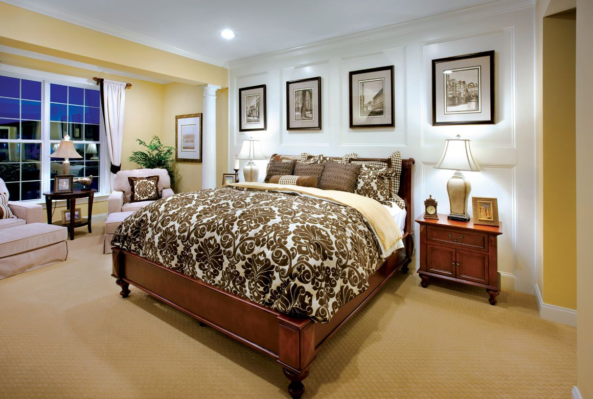 Bedroom featured in the Baron By Toll Brothers in Dutchess County, NY