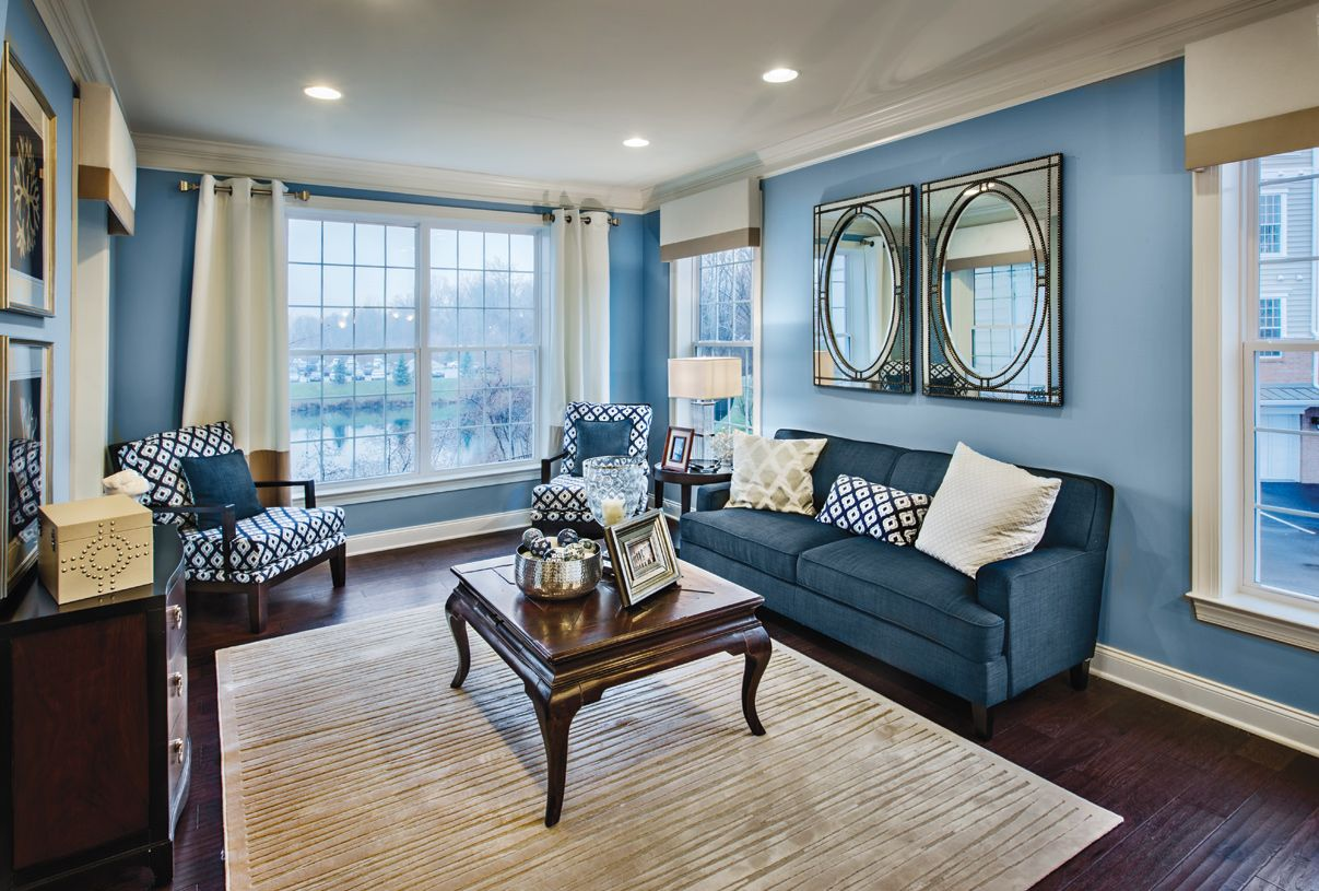 Living Area featured in the Catskill By Toll Brothers in Dutchess County, NY