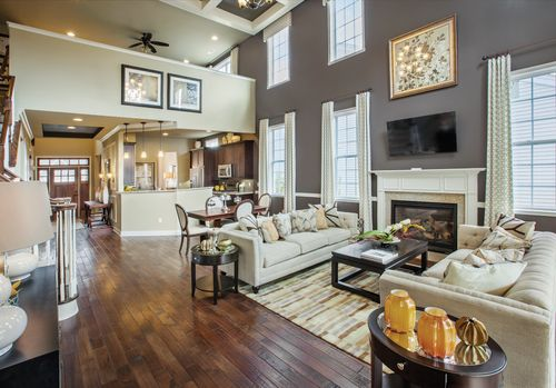 Greatroom-and-Dining-in-Farmington-at-Regency at Wappinger - Villas-in-Wappingers Falls