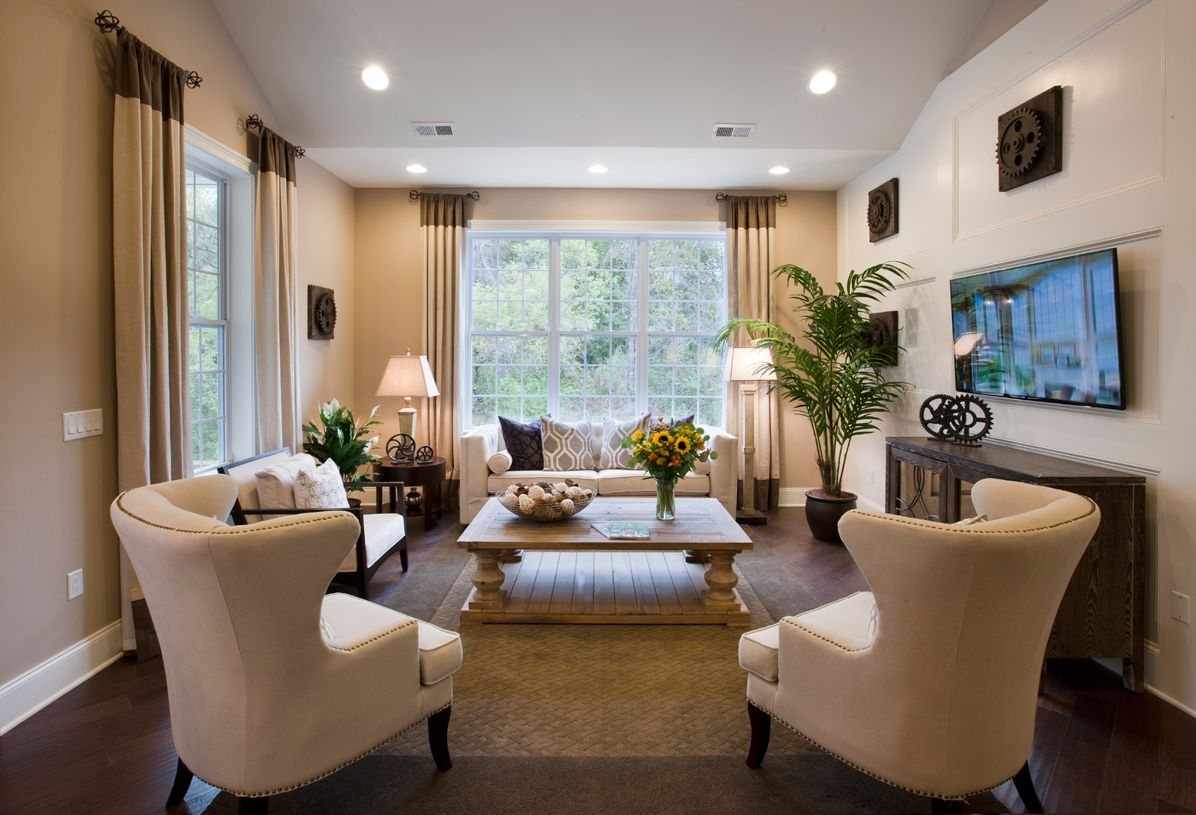 Living Area featured in the Linwood By Toll Brothers in Monmouth County, NJ