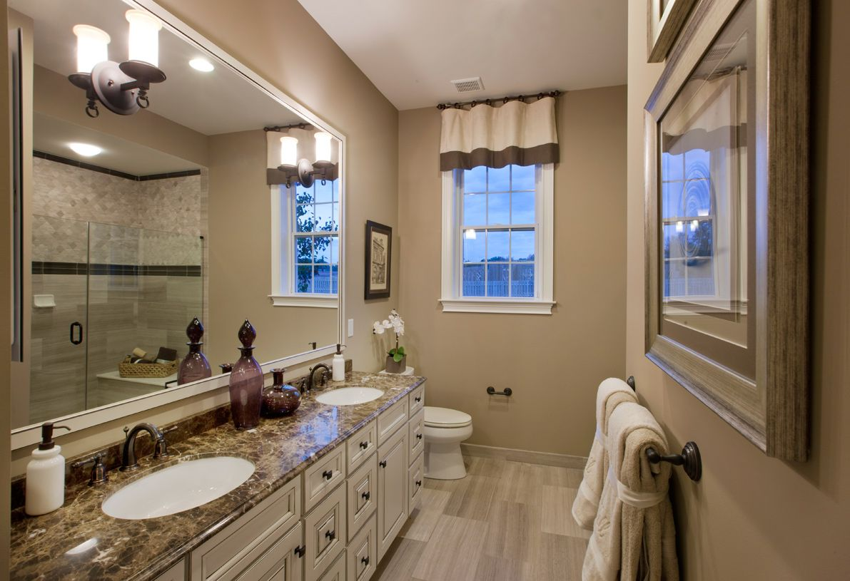 Bathroom featured in the Linwood By Toll Brothers in Monmouth County, NJ
