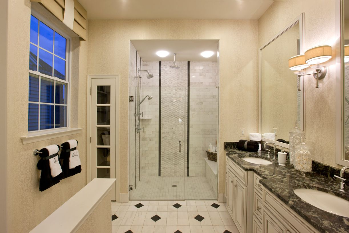 Bathroom featured in the Bronson By Toll Brothers in Monmouth County, NJ