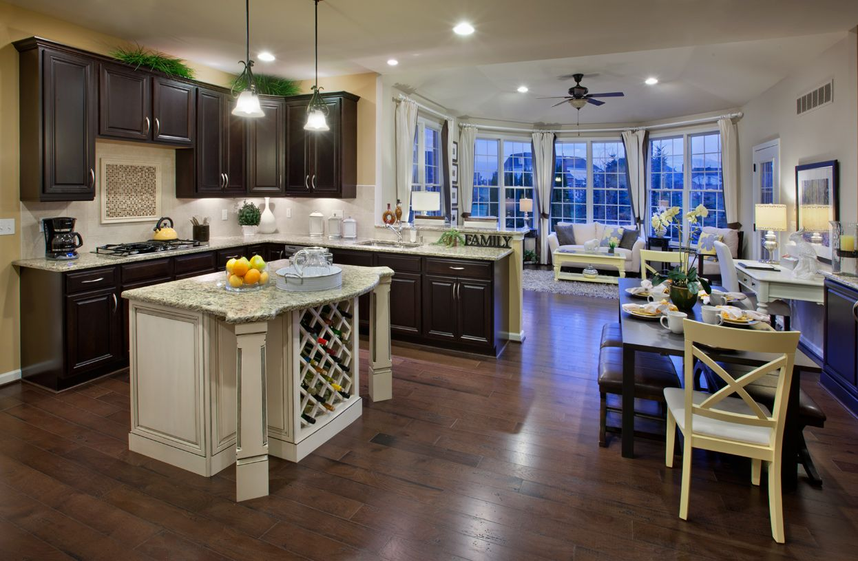 Kitchen featured in the Columbia II By Toll Brothers in Monmouth County, NJ