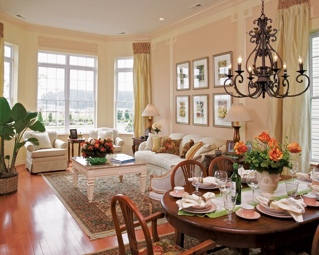 Living Area featured in the Lehigh By Toll Brothers in Monmouth County, NJ